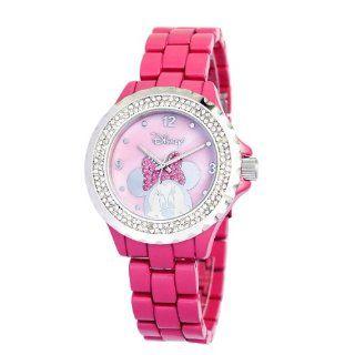 Ewatchfactory Womens 56270 1C Disney Minnie Mouse Pink Enamel Sparkle