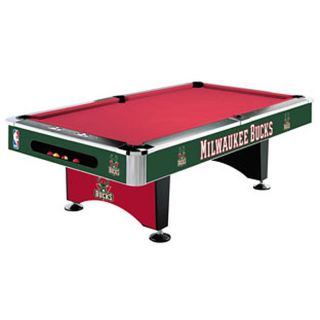 Milwaukee Bucks Pool Table (Installation Included)