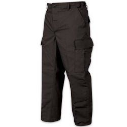 Tru Spec Basic BDU Uniform Pant Black   Medium (31 35