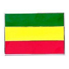 Rastafarian Flag Belt Buckle Clothing