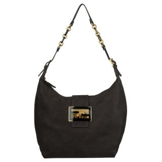 Fendi Forever Brown Calf Leather Hobo Bag