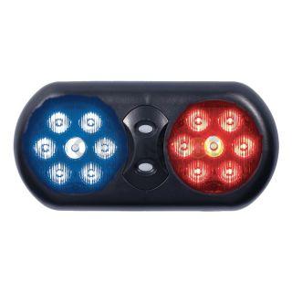 Code 3 VFP36RB Visor Flip Light, LED, Red/Blue, 11 In W