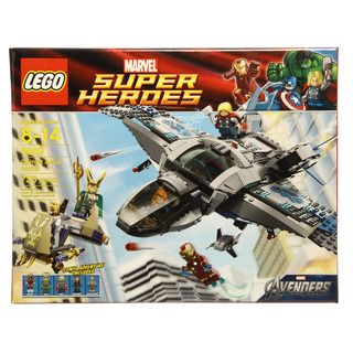 Lego Super Heroes Quinjet Aerial Battle Set