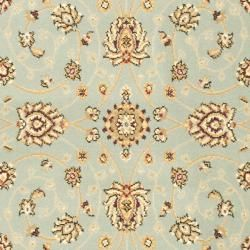 Majesty Extra Fine Light Blue/ Cream Rug (33 x 53)