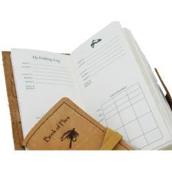 Leather Fly Fishing Log Journal (USA)