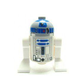 Lego Star Wars Mini Figure   R2 D2 (Grey Head) Astromech