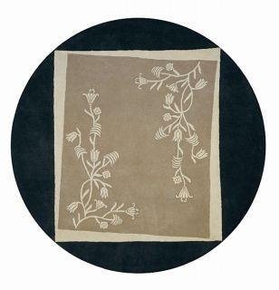 Hand tufted Tuscan Villa Collection Thomasville Wool Rug (8 Round