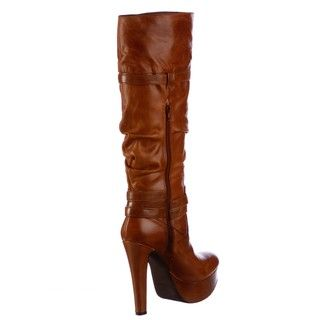 Jessica Simpson Womens Alster Tall Leather Boots FINAL SALE