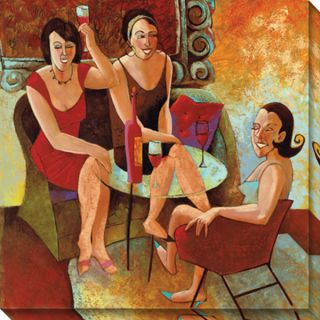 Cecile Broz Ladies Night Out Wrapped Canvas Art Today $59.99 5.0