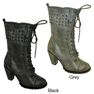 Bucco Odessa Womens Stud embellished Ankle Boots Today $37.99 3.0