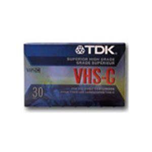 TDK TC 30EHG VHS C Cassette 2 Pack Electronics
