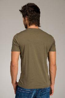 Diesel Taffino Olive Green T shirt for men