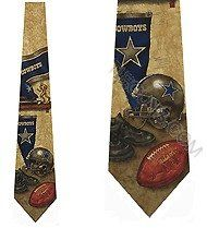 DALLAS COWBOYS Ties Silk NFL Neckties Clothing