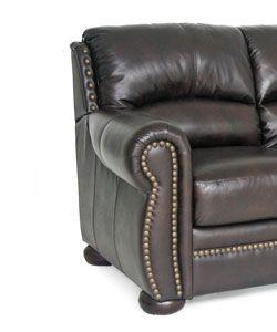 Benjamin Brown Leather Sofa/ Loveseat/ Chair Set