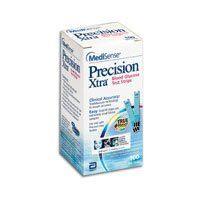 Medisense Precision Extra Q.I.D Test Strips 100 Ea Health