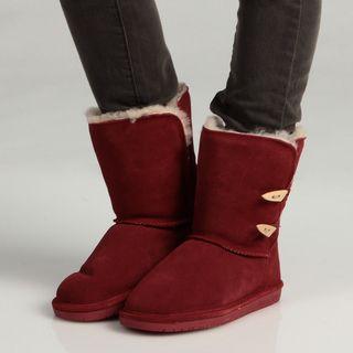 Bearpaw Womens Abigail 8 Inch Boots FINAL SALE