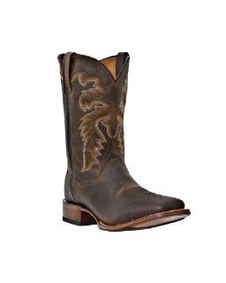 Mens Dan Post 11 Dewey Western Boots BROWN 13 D Shoes