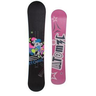 Atomic Womens 148 Black Fallen Angel Snowboard