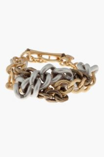Juicy Couture Braided Chain Toggle Bracelet for women