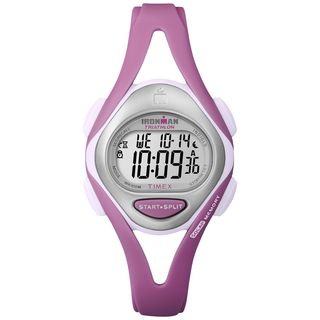 imex Womens Ironman Sleek 50 Lap Pasel Pink Resin Wach
