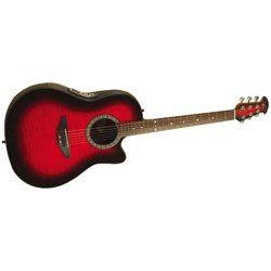 Ovation CK047 Celebrity Acoustic Electric Guitar (Black