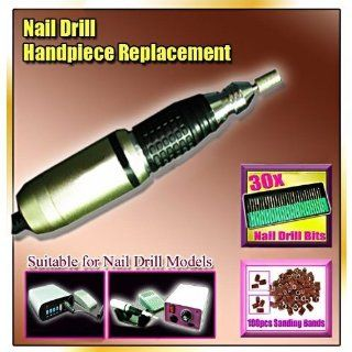 of Nail Drill + 30 Bits +100 Sanding Bands CODE #223 Beauty