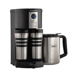 Hamilton Beach HB 45237 RB Thermal Stay or Go Coffee Maker