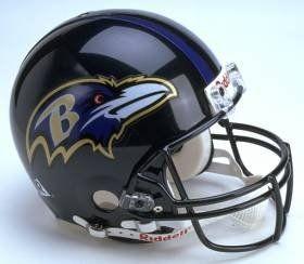 Baltimore Ravens Riddell Authentic Full Size Proline