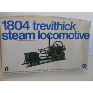 Entex 1804 Trevithick Steam Locomotive Plastic Model Kit