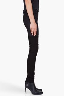 Surface To Air Skinny Black Horizontal V1 Jeans for women