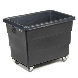Black Recycled Plastic Box Truck 10 Bushel 500 Lb