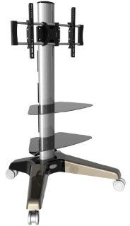 GSI Super Quality Massive Television Mount Stand Rolling