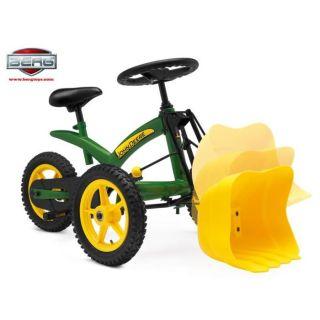 Berg Toys   Tricycle Triggy John Deere   Il permet de rouler en avant