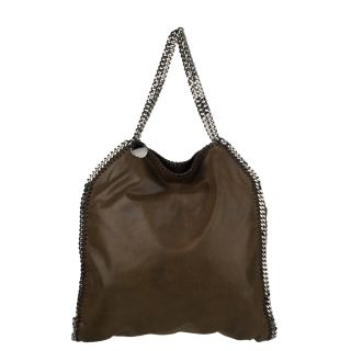Stella McCartney Shaggy Deer Falabella Brown Tote Bag