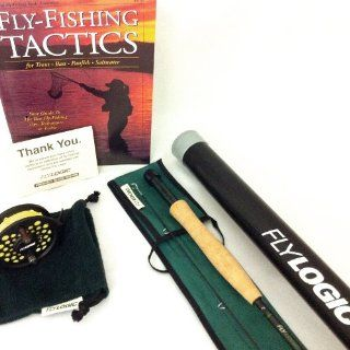 Fly Logic 5 Weight Fishing Rod Reel Line Combo Kit