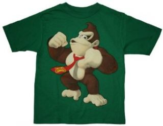 Nintendo Donkey Kong Green T shirt for Boys Clothing