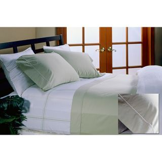 Hotel Grand Collection 330 Thread Count 4 piece Green Sheet Set