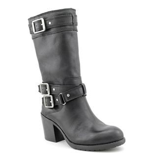 Jessica Simpson Womens Nermin Leather Boots
