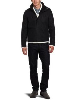 Calvin Klein Sportswear Mens Modern Wool Jacket Clothing