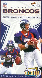 Super Bowl XXXIII   Denver Broncos Championship Video [VHS