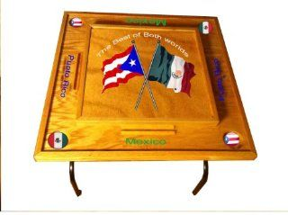 Puerto Rico & Mexico Domino Table Sports & Outdoors