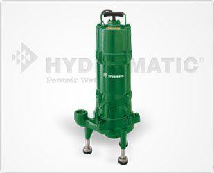 Cast Iron Sewage Grinder Pump, 2 HP, 3 Phase, 230 Volt