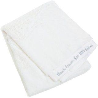 Carters Cushysoft Blanket, White Baby