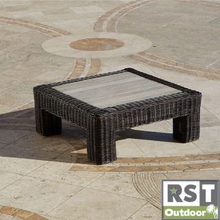 Rattan 36 inch Square Outdoor Coffee Table Today $338.17