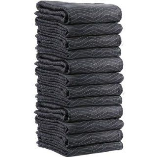 The BEST Moving Blankets / Moving Pads 72x80 Black/White (90lbs