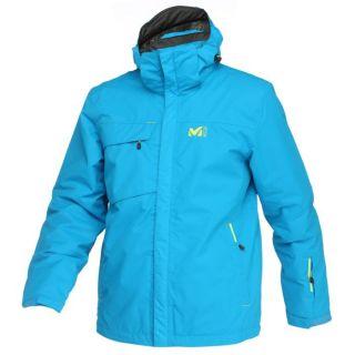 Modèle Palmen   Coloris  bleu. Veste de ski Dry Edge, imperméable