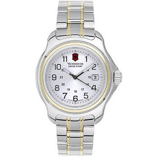 Swiss Army Officers 1884 Mens Two tone Watch