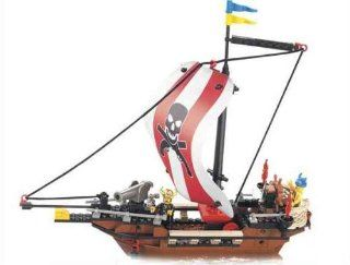 Sluban Warriors Pirate Ship 226 Pieces Building Blocks