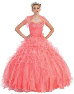 Ball Gown Formal Prom Strapless Wedding Dress #226 Clothing