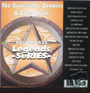Roots, & Zombies 16 Song Karaoke CDG Legends #232 Legends Music